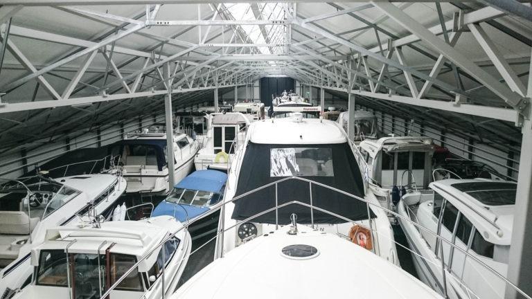 Veneen talvisäilytys Turku